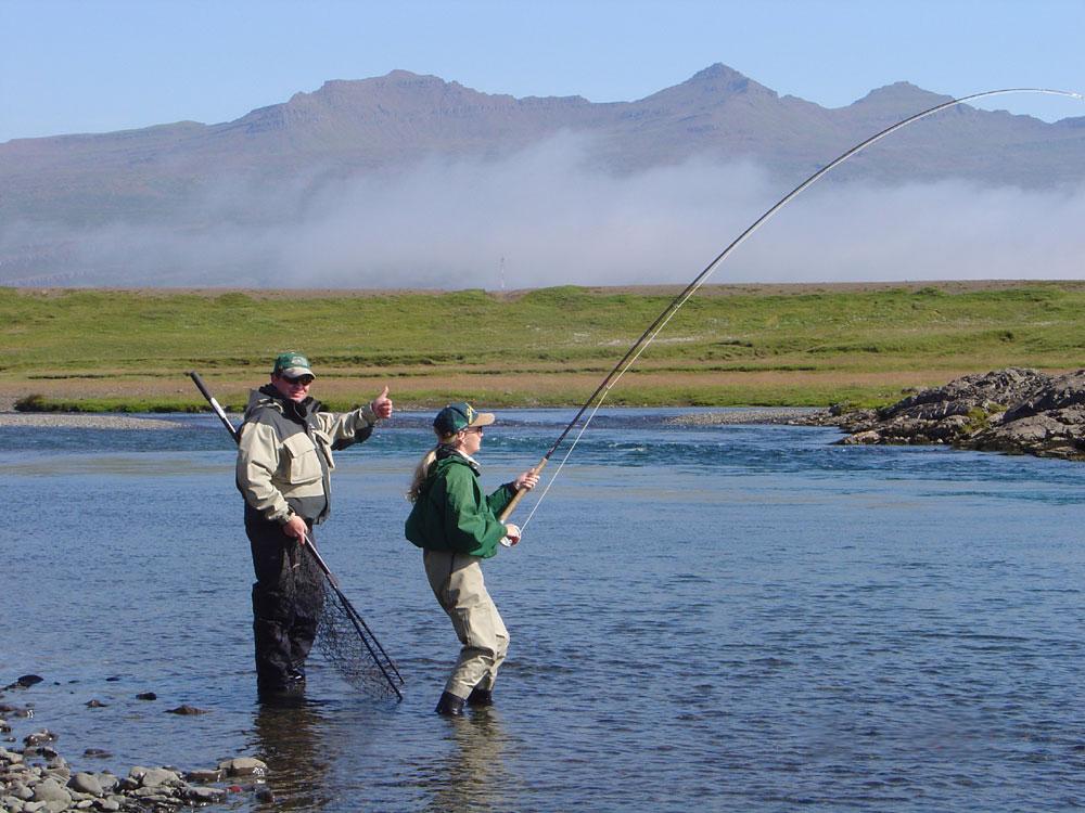 River Breiddalsa - Fishing in Iceland - Salmon - gofishing.is