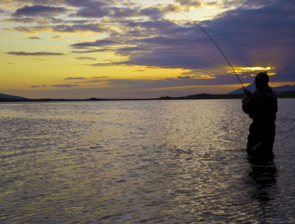 Lake Ellidavatn - Fly Fishing in Iceland - gofishing.is