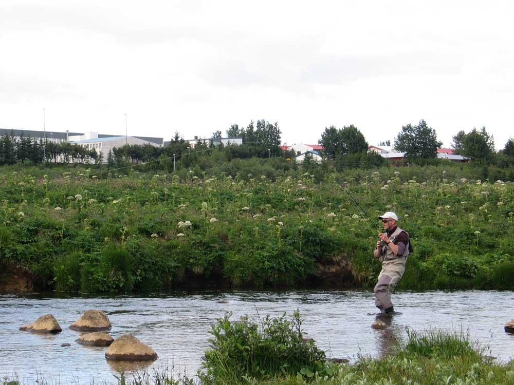 River Ellidaar - Fly Fishing in Iceland - Salmon - gofishing.is