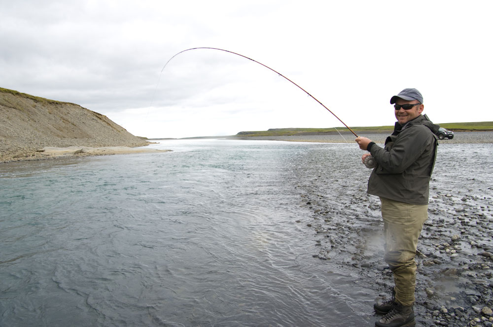 River Jökla - Fishing in Iceland - Salmon & Trout - gofishing.is