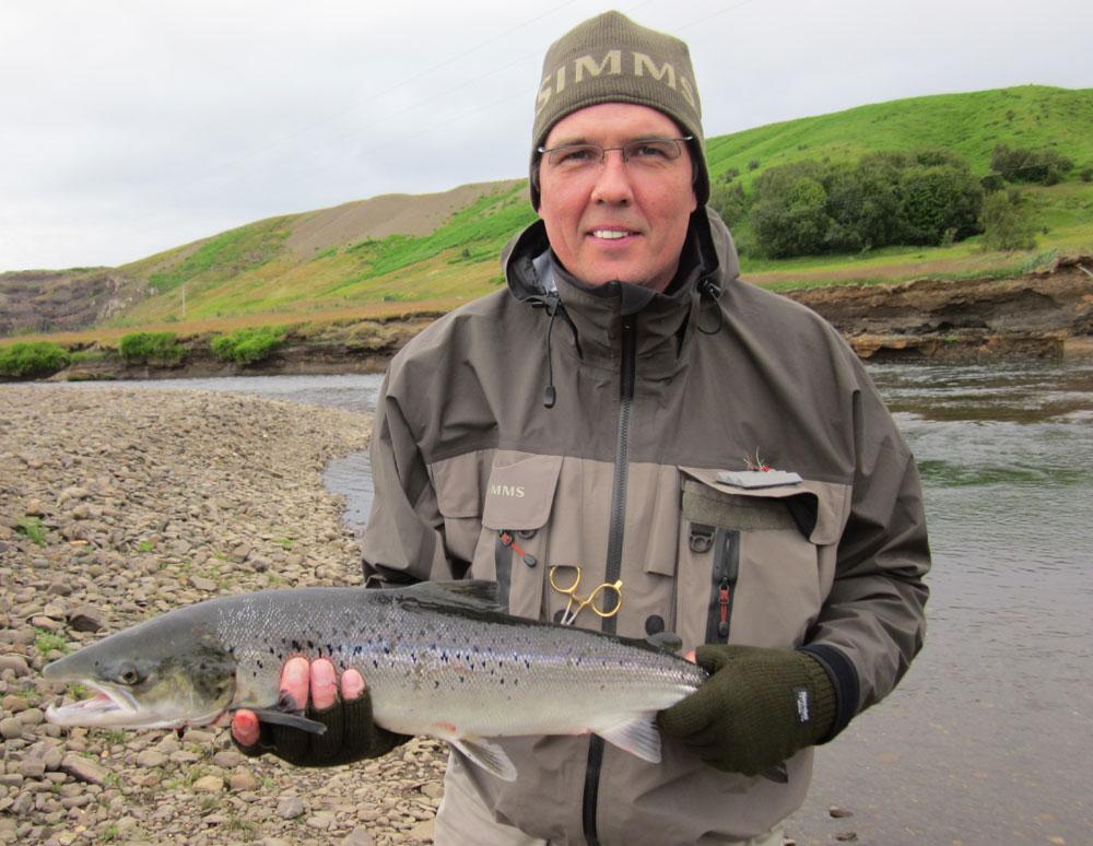 River Langa - Fishing Tours Iceland - Salmon - gofishing.is