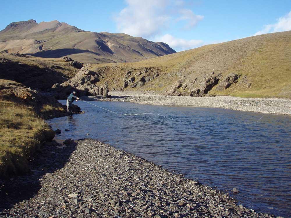 River Stora Laxa - Fly Fishing in Iceland - Salmon - gofishing.is