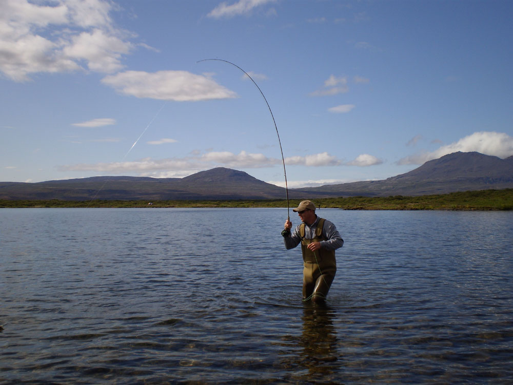 Lake Thingvallavatn - Fly Fishing Tours Iceland - gofishing.is