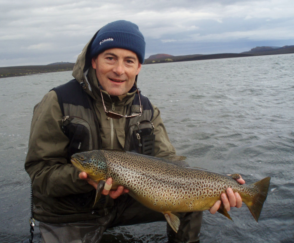 Veidivotn lakes - Brown Trout - Fly Fishing in Iceland - gofishing.is