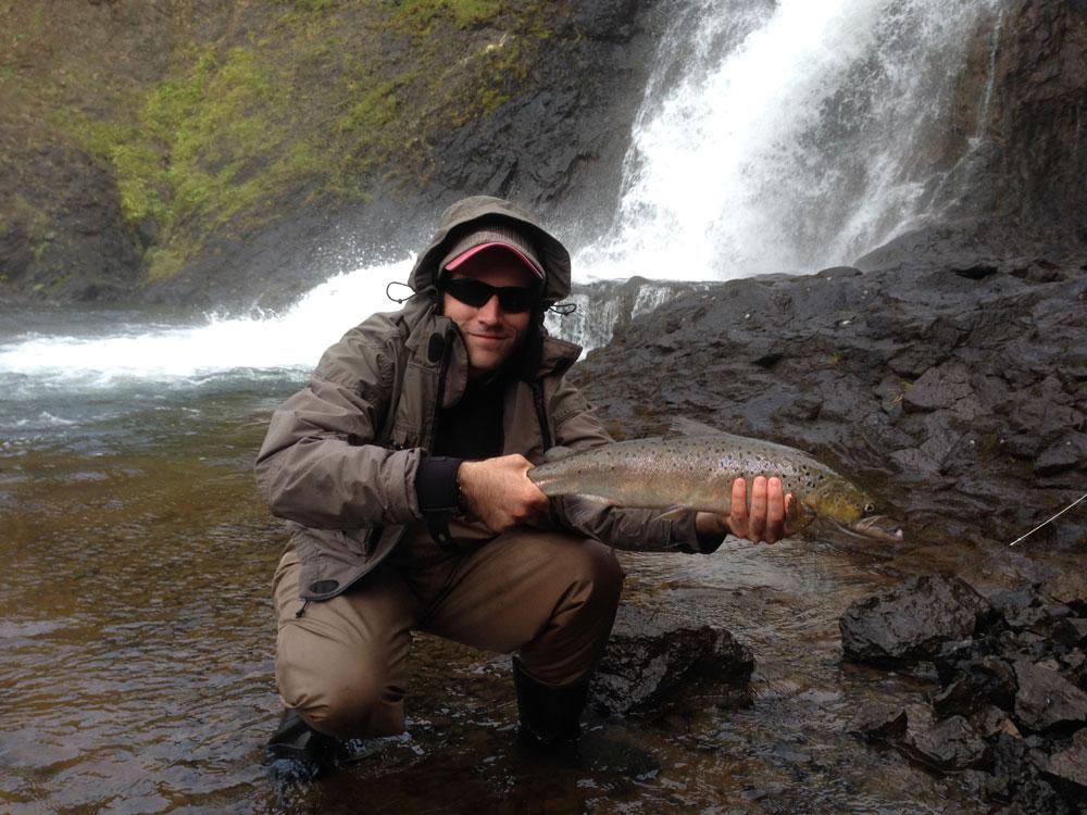 River Leirvogsa - Fishing Tours Iceland - Salmon - gofishing.is