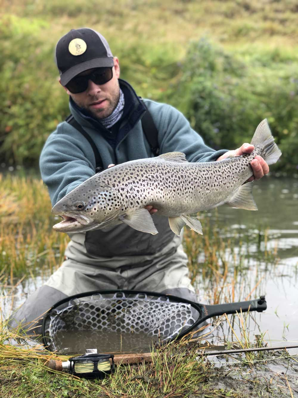 River Varma - Fly Fishing in Iceland - Sea Trout - gofishing.is